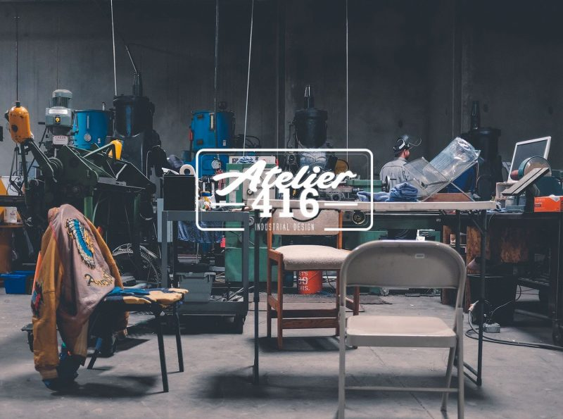 Création site E-commerce : Atelier 416